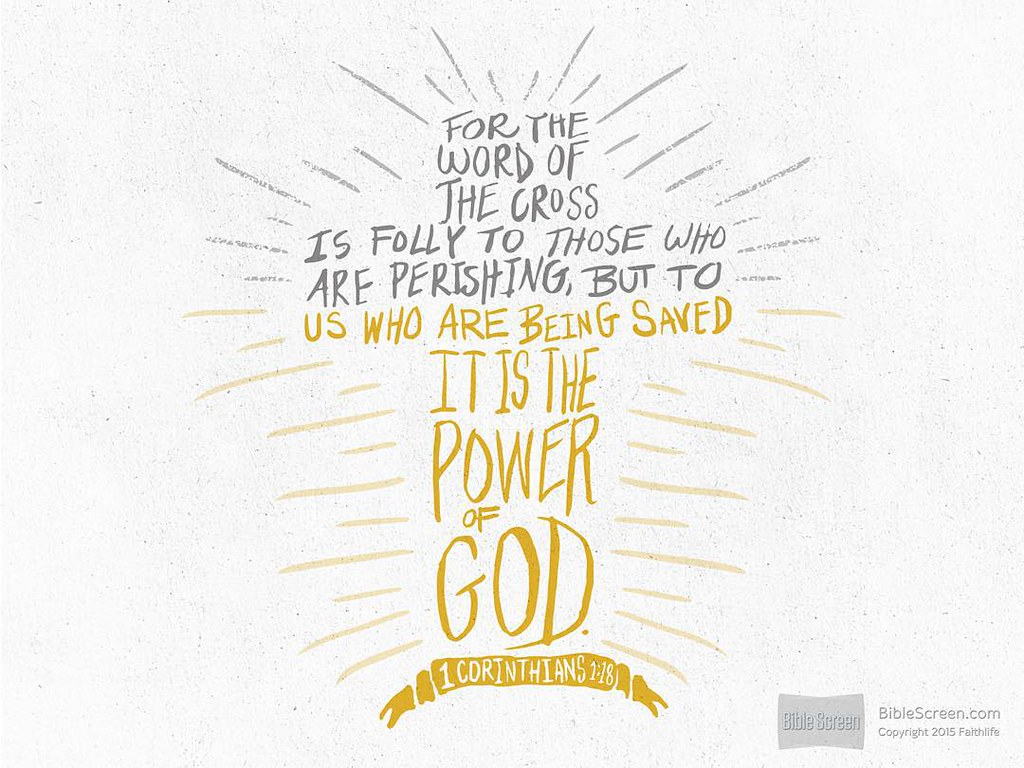 But the power of God